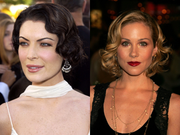 Lara Flynn Boyle and Christina Applegate