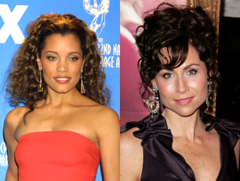 Michael Michele and Minnie Driver