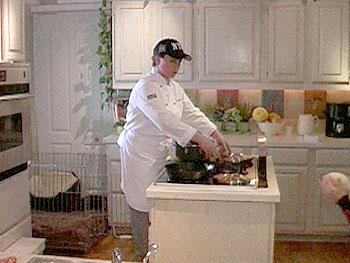 Wynonna's personal chef, Cathy