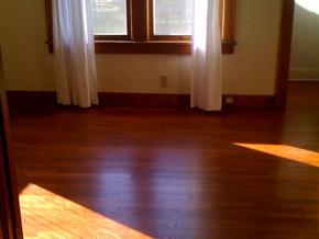 Simran's hardwood floors