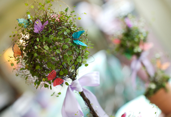 Butterfly party decoration