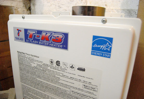 An energy-efficient water heater