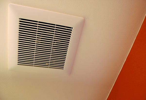 Bathroom ventilation can remove VOCs.