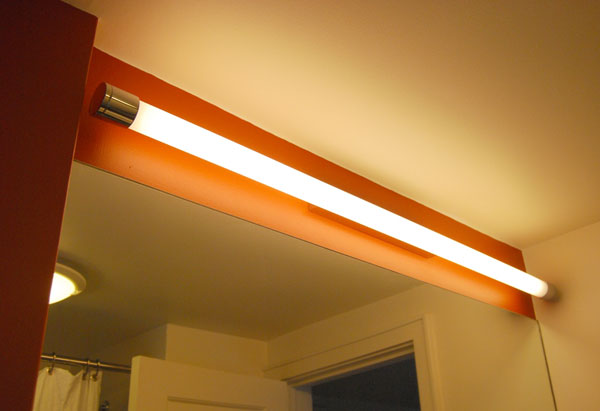 Florescent lighting is energy efficient.