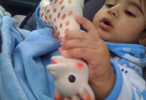 Simran Sethi's nephew, Bunny