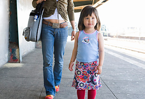 Tips for traveling as a single parent