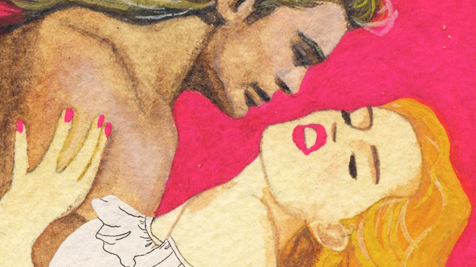 Romance novel art