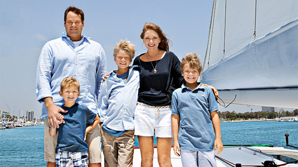 Living On A Sailboat Family Travel On A Boat