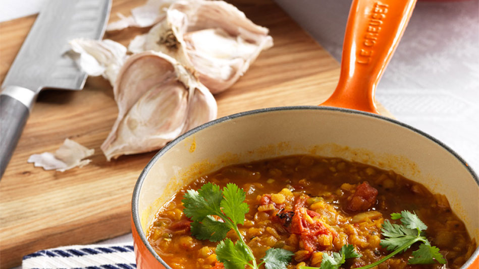 Lisa Oz's Lentils with Chia Seeds Recipe