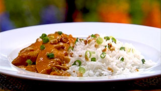 Spicy Peanut Butter Chicken