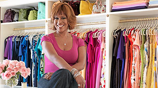 Gayle King's Extreme Closet Makeover: Before and After