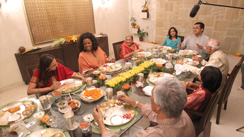 Oprah S First Traditional Indian Meal Video