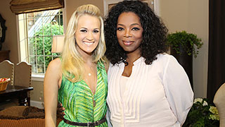 First Look: Oprah Interviews Carrie Underwood and Her Husband, Mike Fisher