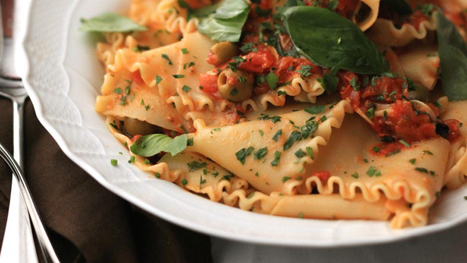 Mario Batali's no-bake lasagna