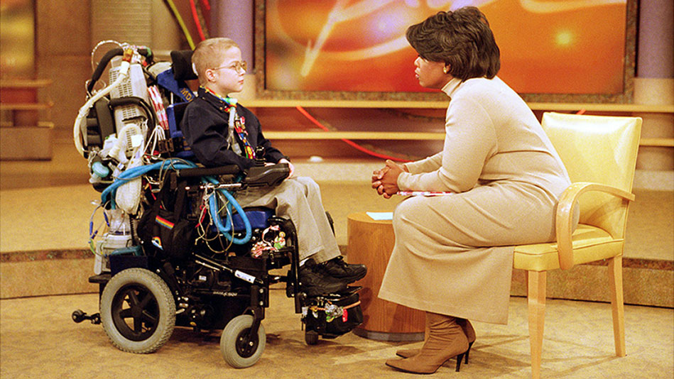 """How Mattie Stepanek Changed the Course of """"The Oprah Show"""" - Video"""