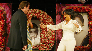 Moment #14: Oprah's Surprise 50th Birthday Party