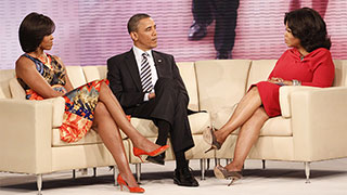 Moment #13: Oprah Interviews a Sitting President and First Lady