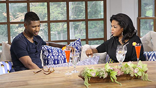 Oprah Speaks with Usher About Bitter Custody Battle on <i>Oprah's Next Chapter</i>