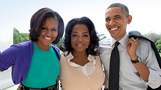 Oprah Talks to the Obamas