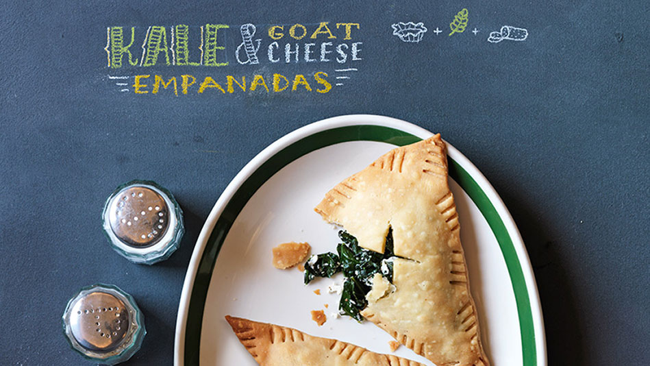 Kale and Goat Cheese Empanadas Recipe