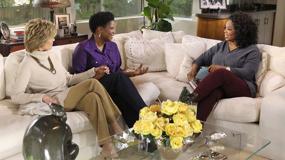 First Look: Jane Fonda and Her Adopted Daughter, Mary Williams, on <i>Oprah's Next Chapter</i>