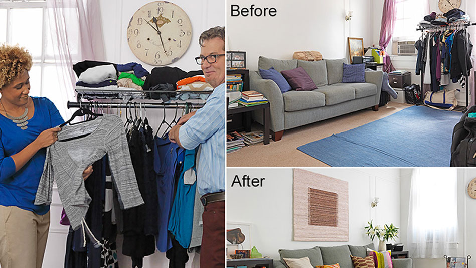 Decluttering For Houseguests