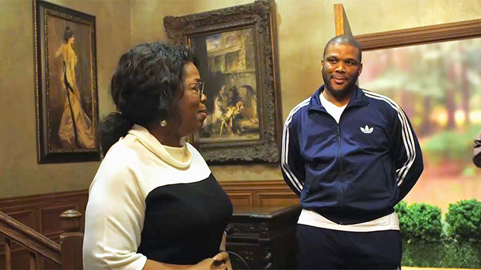 Backstage Exclusive: Tyler Perry Surprises Cast and Crew with...Oprah!