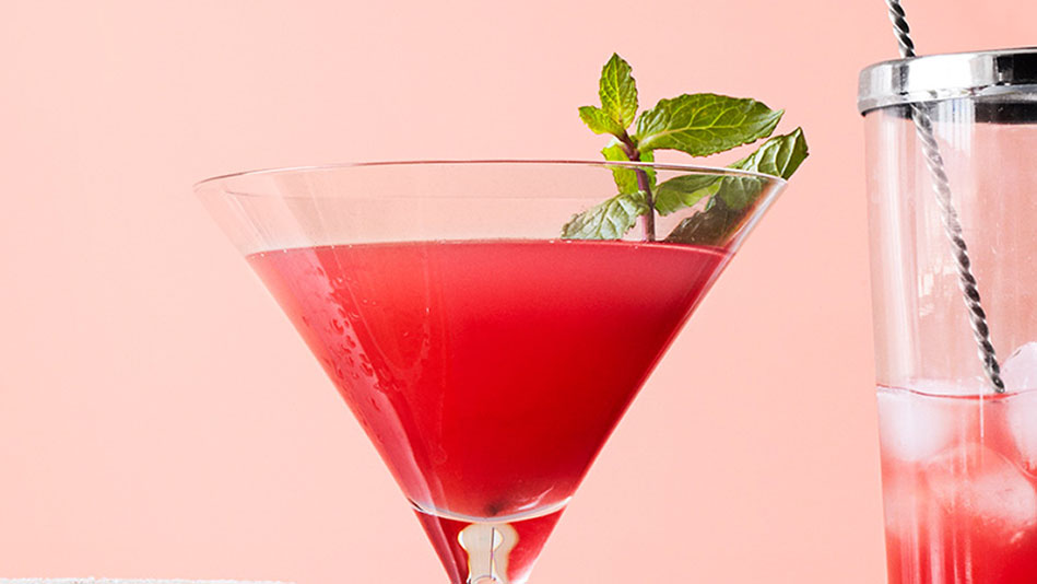 Watermelon-Mint Martini Recipe
