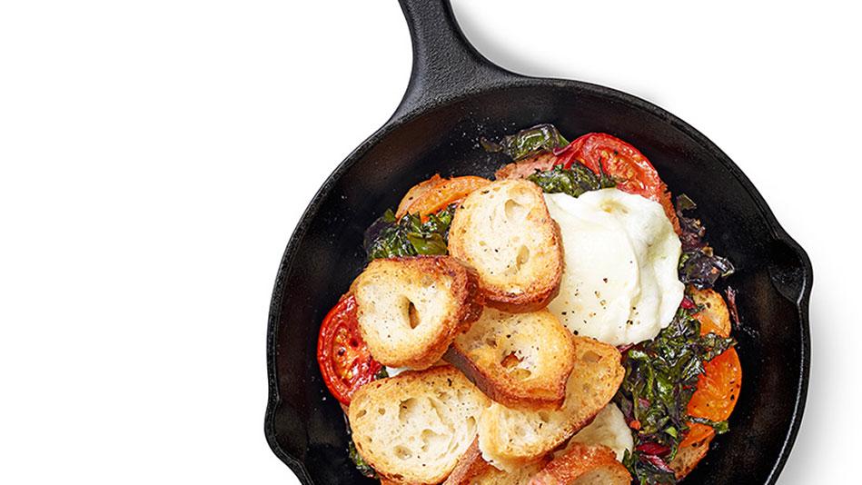 Tomato and Chard Bake Recipe
