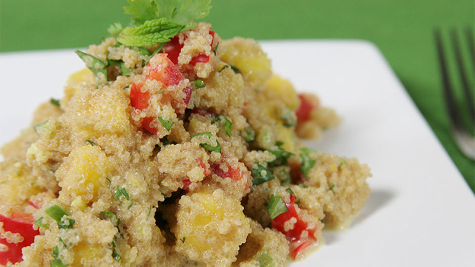 Amaranth Mango Salad Recipe