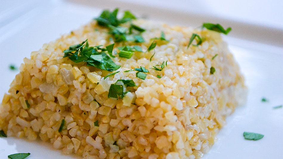 Bulgur Wheat Pilaf Recipe