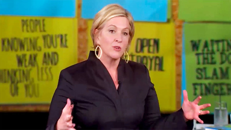 The Quote That Changed Brené Brown's Life