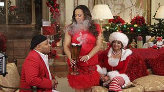 La Toya Gets a Visit from Santa