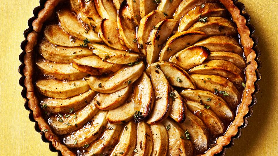 Spiced Apple Tart Recipe