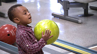 Web Exclusive: Joshua's First Time Bowling
