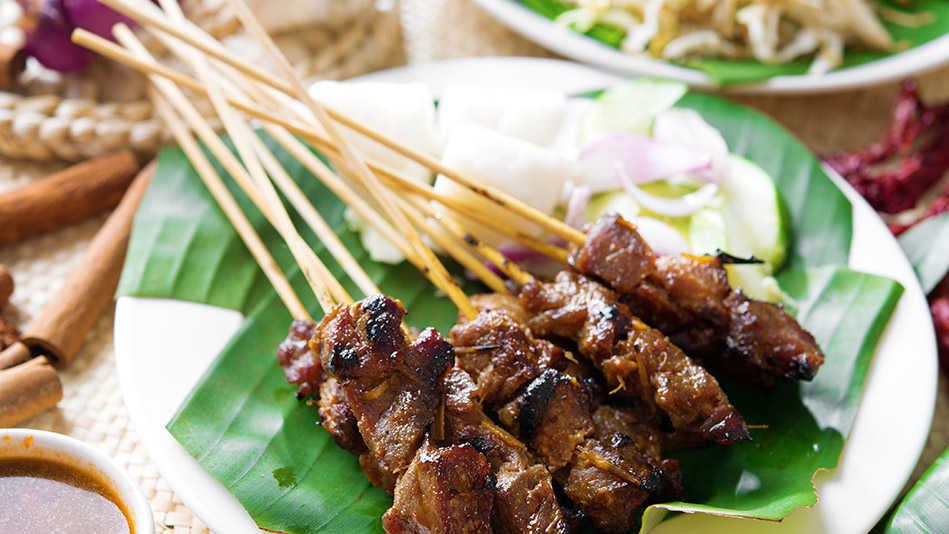 Beef Satay With Spicy Peanut Sauce Recipes — Dishmaps