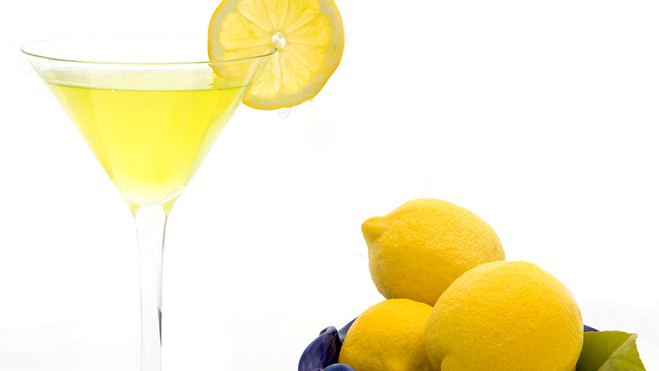 Oprah's 'Legends Lemon Drop Martini'
