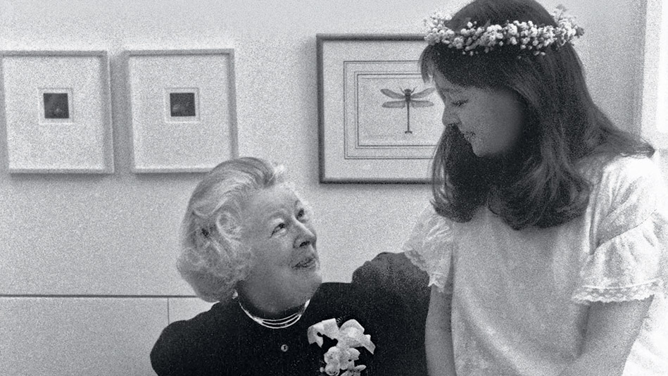 Anne Fadiman and her mother