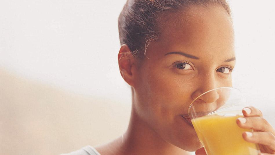 is juice worse than soda