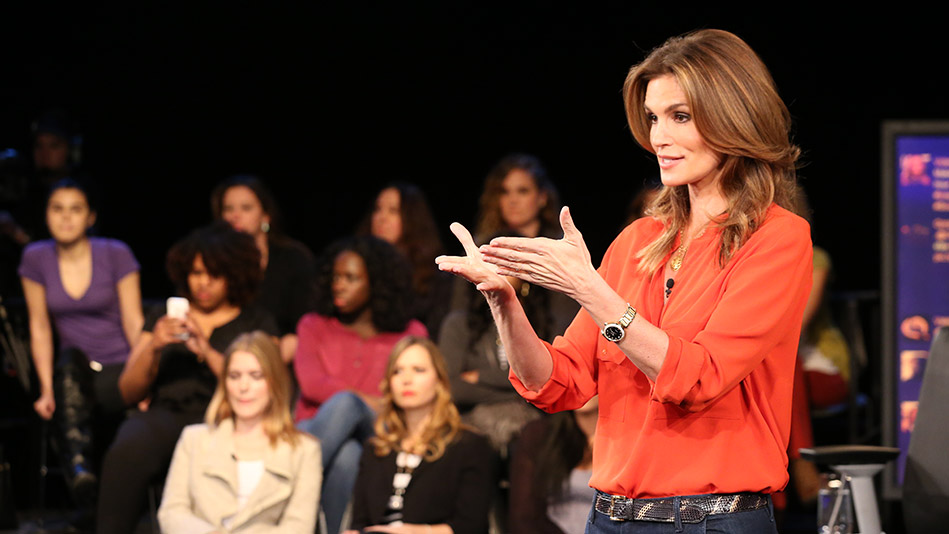 Why Cindy Crawford Says Let Go of the Peanut Butter - Videos