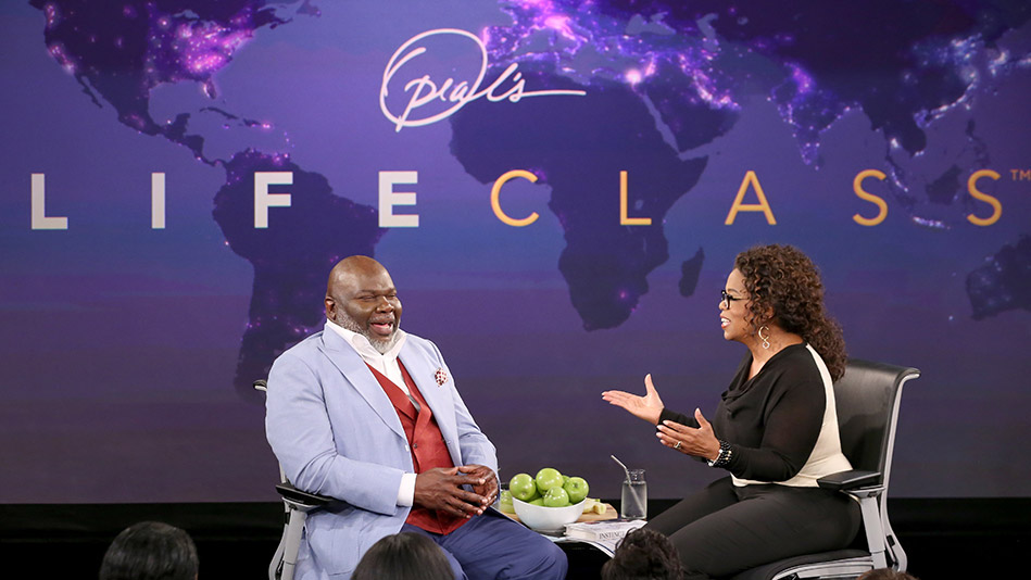 Bishop T.D. Jakes and Oprah Winfrey