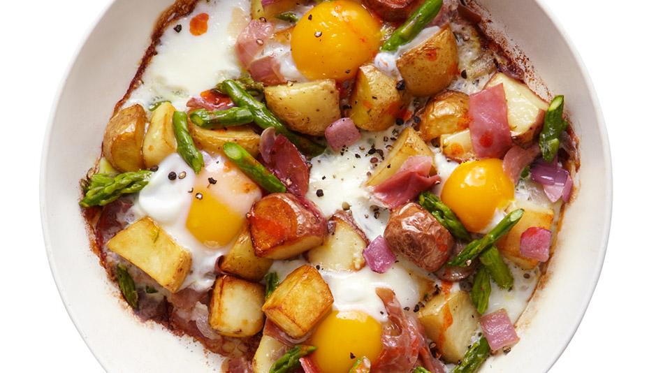 Asparagus Hash