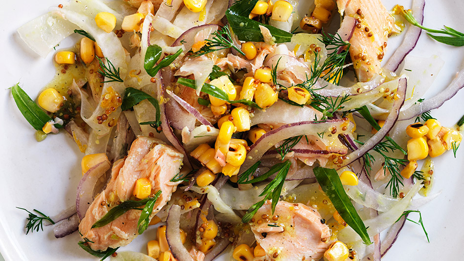 Salmon, Fennel and Tarragon Salad