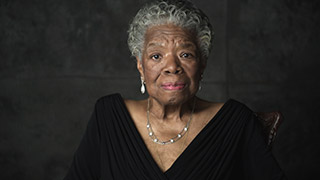 "Dr. Maya Angelou: ""Be a Rainbow in Someone Else's Cloud"""