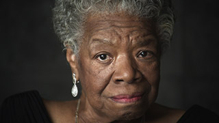 Dr. Maya Angelou on Loving and Letting Go