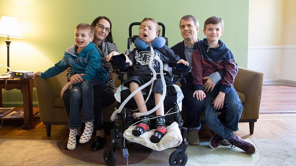 Hamilton Cain and family