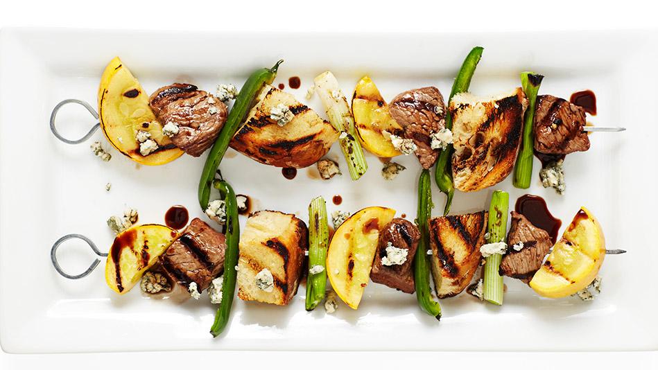 spicy steak skewers recipe