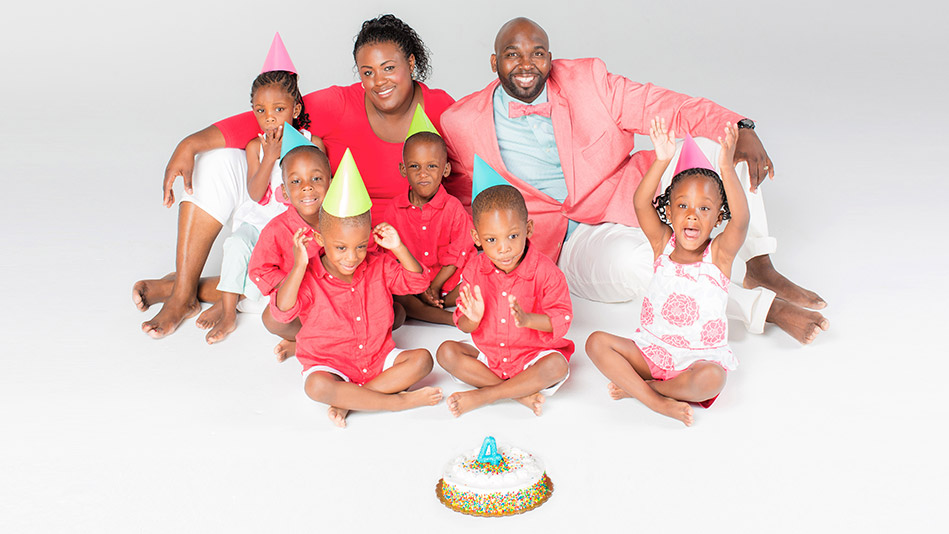 Happy Birthday to the McGhee Sextuplets!