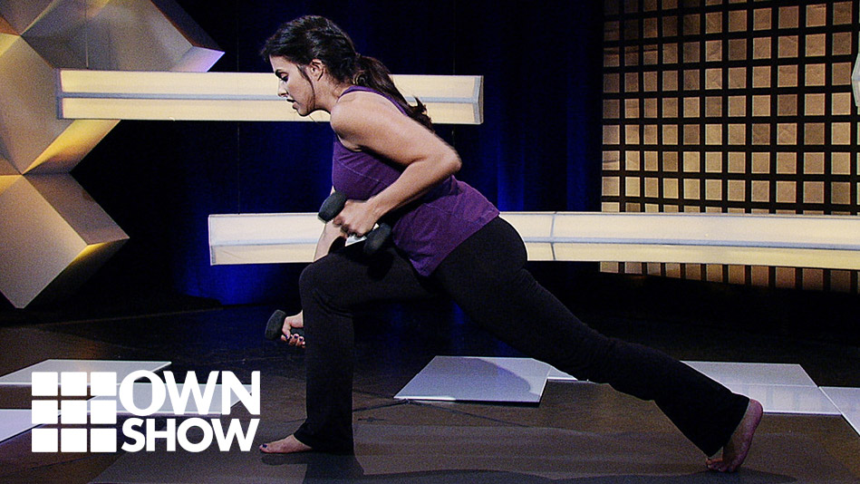 The Yoga-with-Weights Move Anyone Can Do