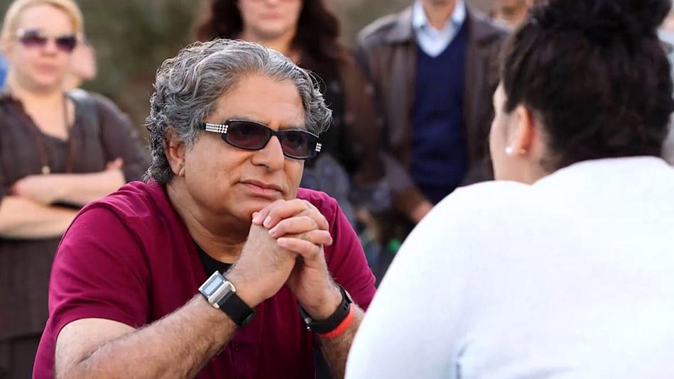 Deepak Chopra Helps a Woman Break Free of Emotional Eating - Video